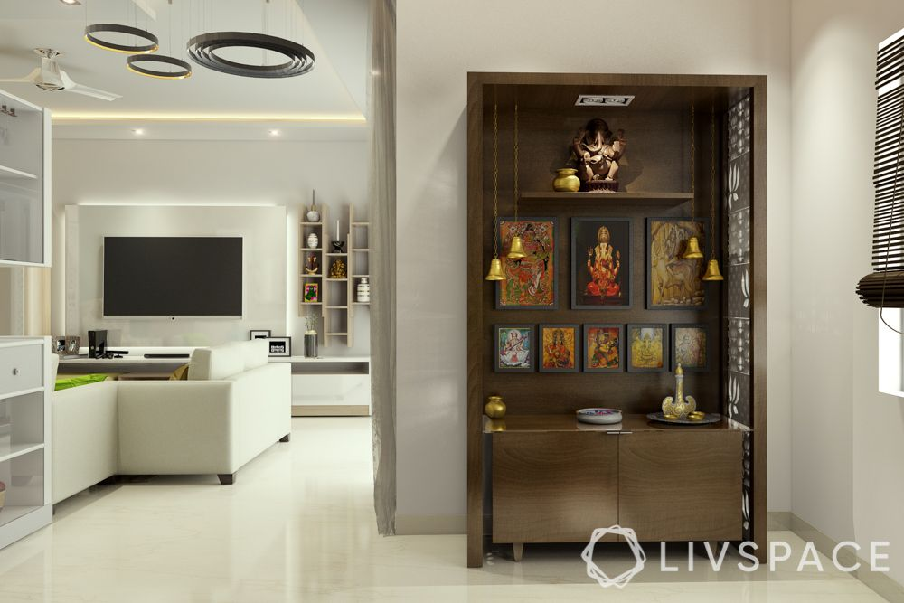 vastu for pooja room-storage