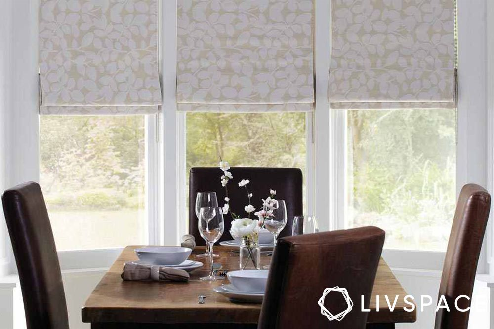 window blinds-roman blinds