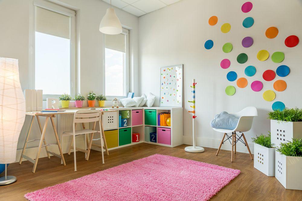 design kids room-kids room storage-wall design