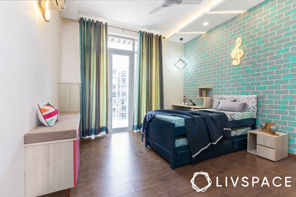 kids room-wallpaper designs-trendy colours for kids room
