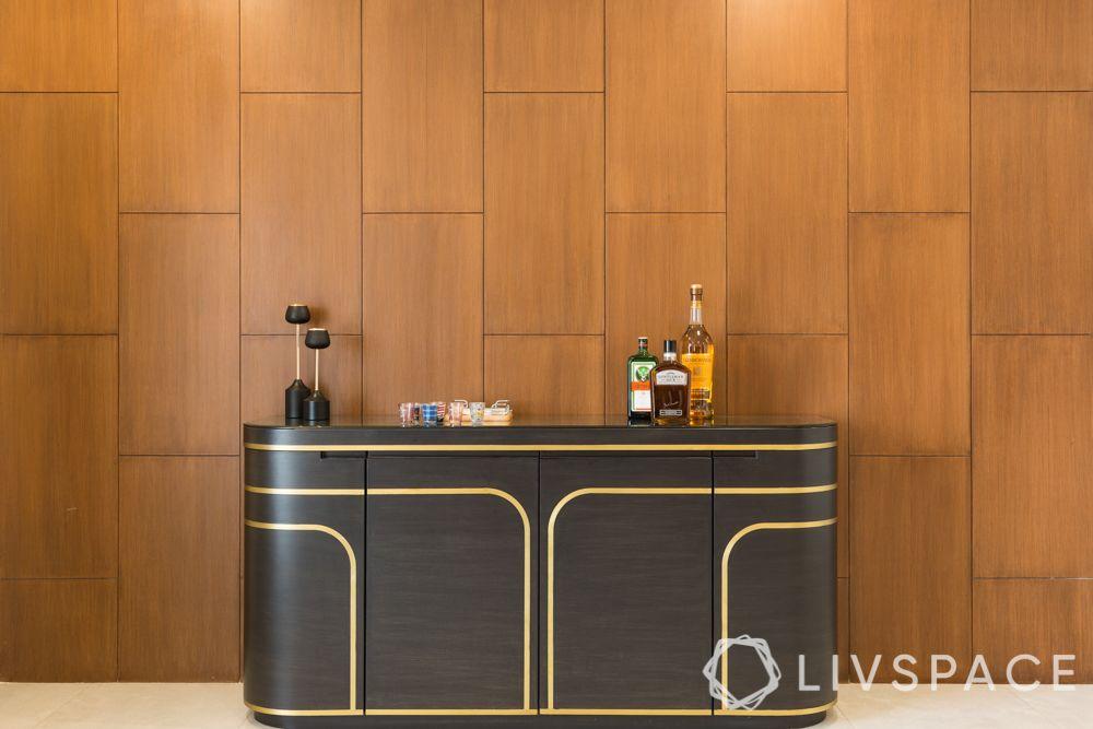 laminate vs veneer-veneer bar unit-veneer panel