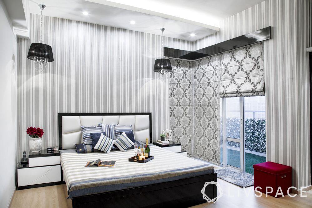 false ceiling design for bedroom-platform panels