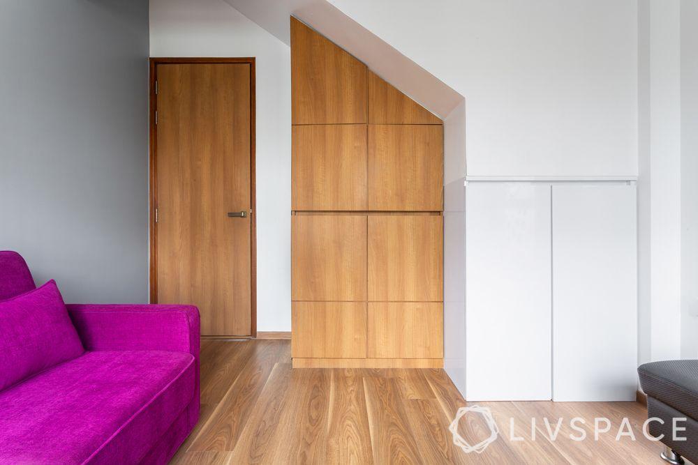 4bhk interiors-storage cabinets