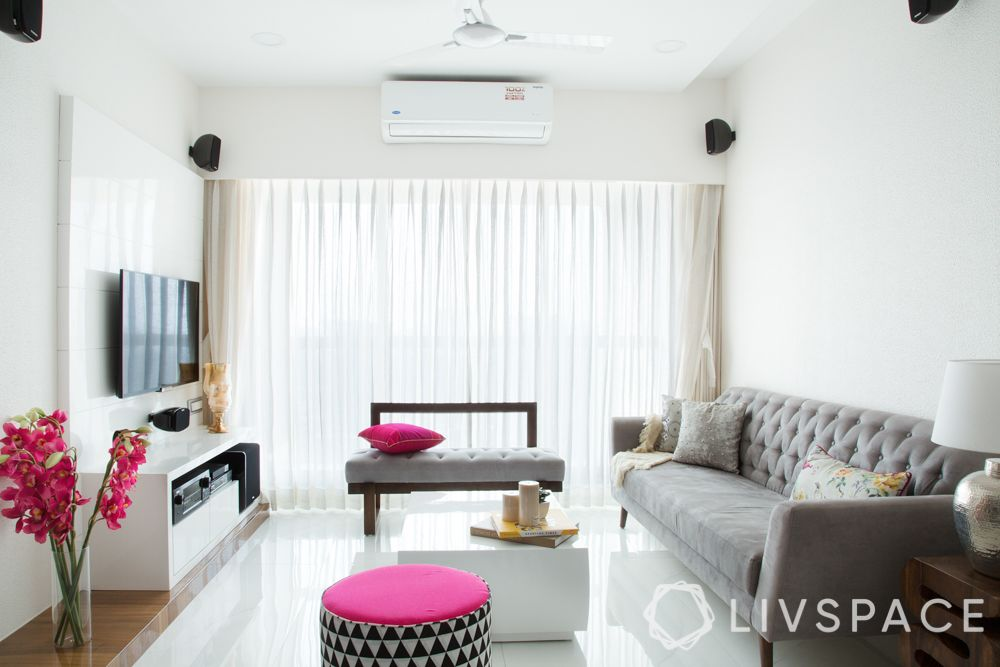 minimal home-grey sofa