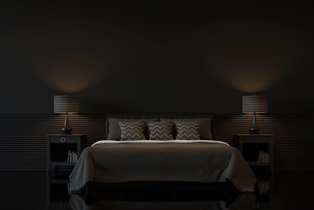 bedroom design mistakes-bedroom lighting