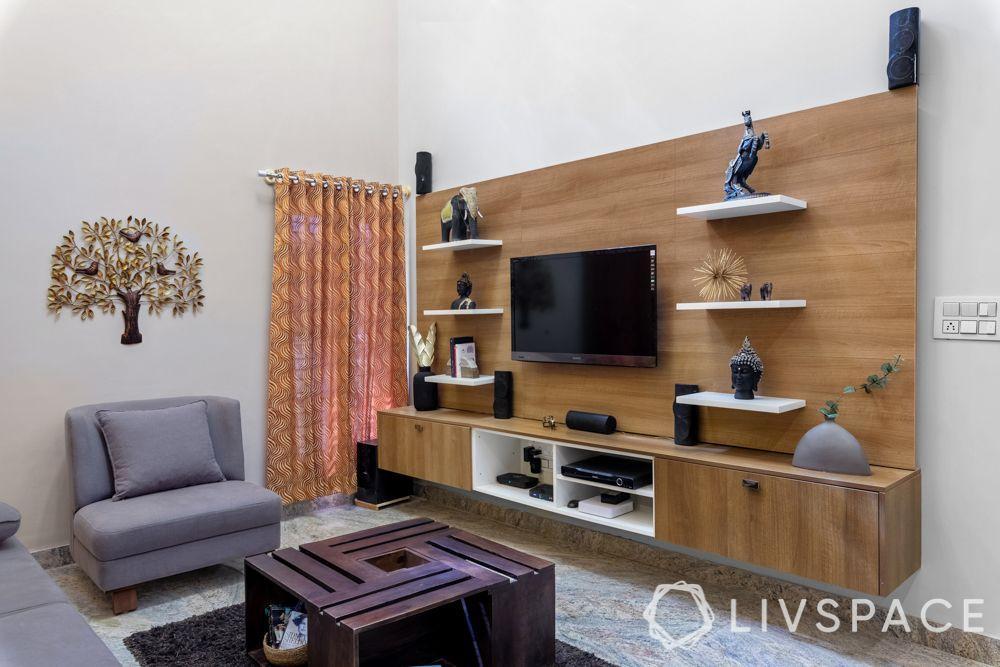 interior of homes-TV unit