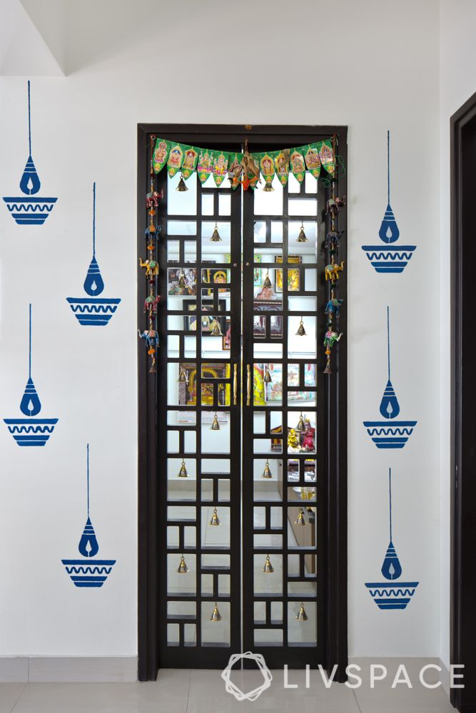 pooja room designs for indian homes-pooja room decoration