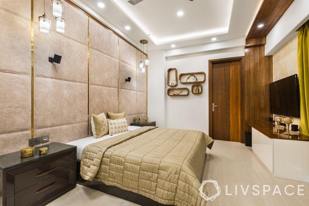 POP false ceiling design-bedroom ceiling-simple false ceiling-lighting