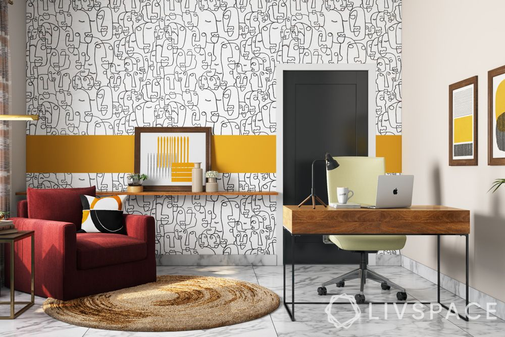 wallpaper designs-colour blocking