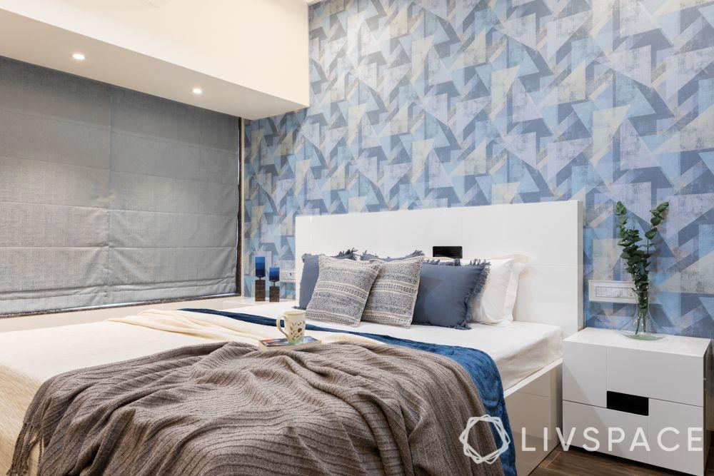 best home designers-bedroom-wallpaper