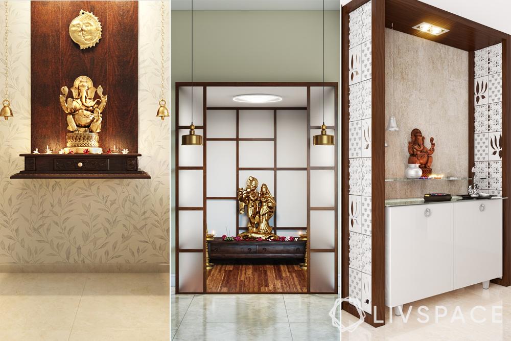 pooja room designs-cost