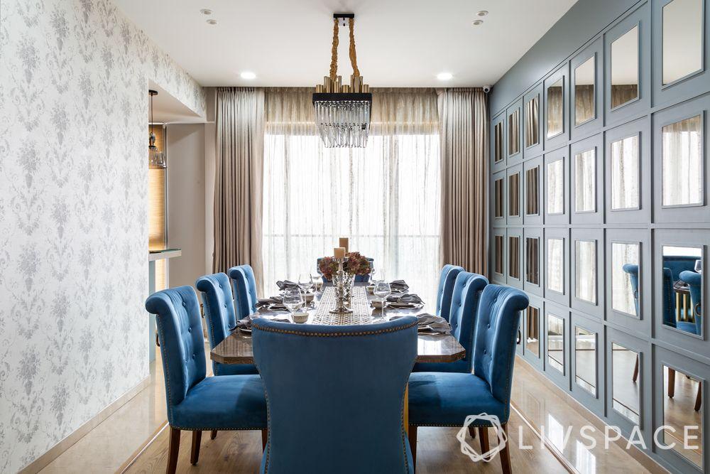 duplex house - dining room