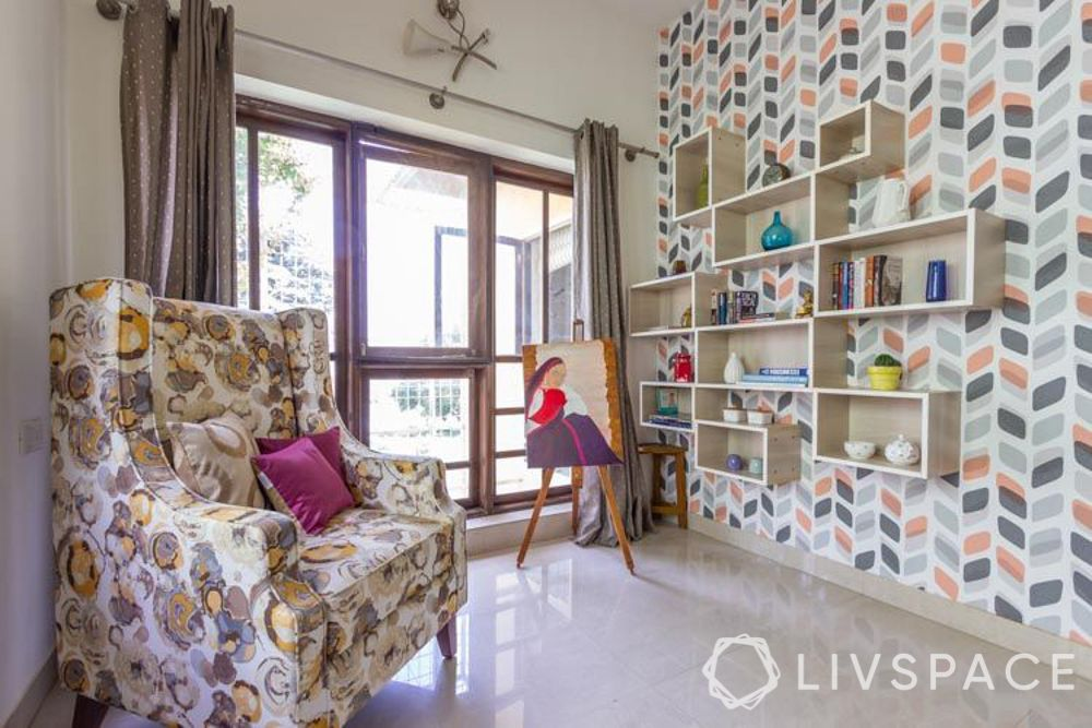 4BHK house interior - hobby room