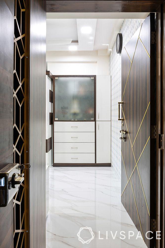 modern house interior design-entrance