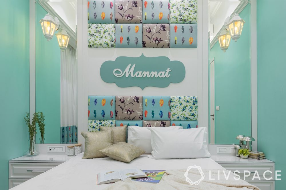 bedroom ideas for girls-sea themed-customised
