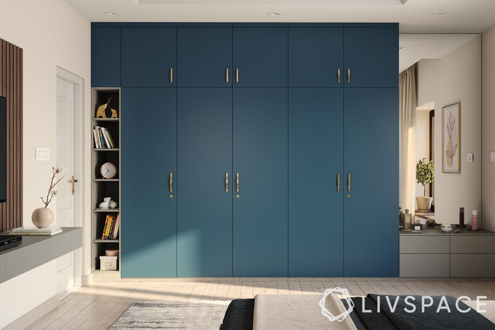 wardrobe-blue swing wardrobe