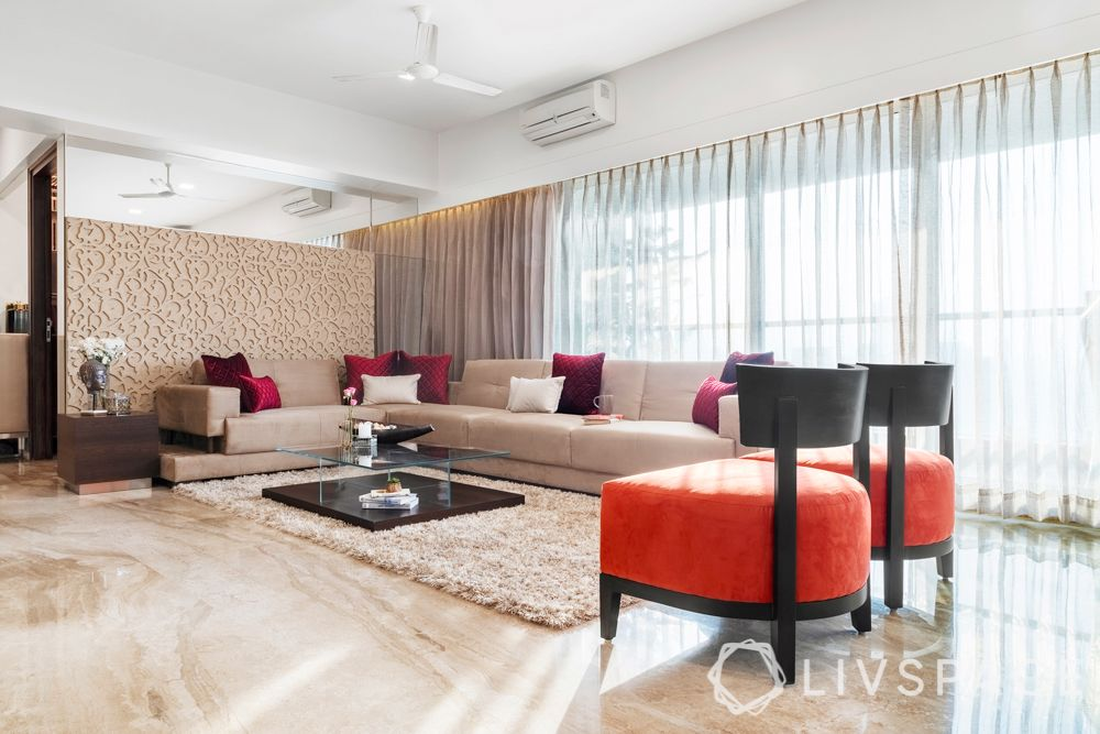 living room interior design-minimal lam style