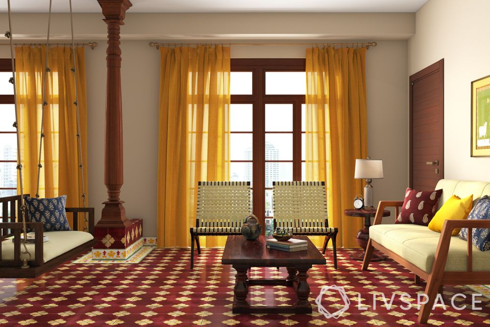 indian interior design - chettinad furniture
