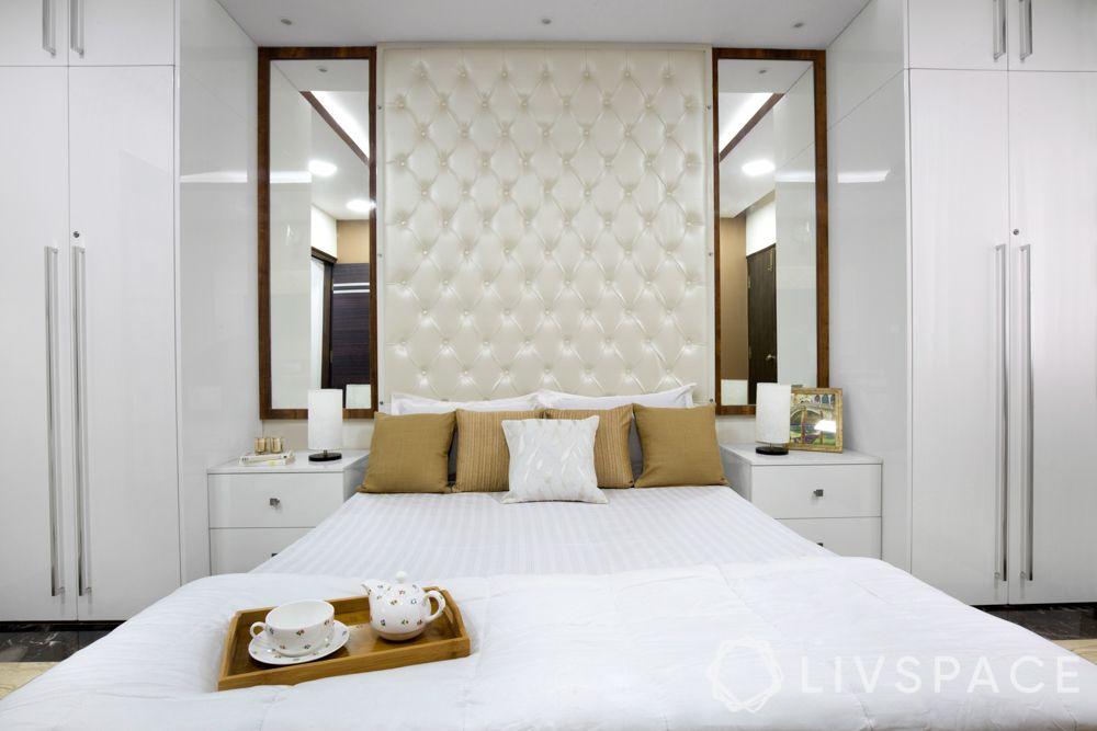 mirror designs-white bedroom