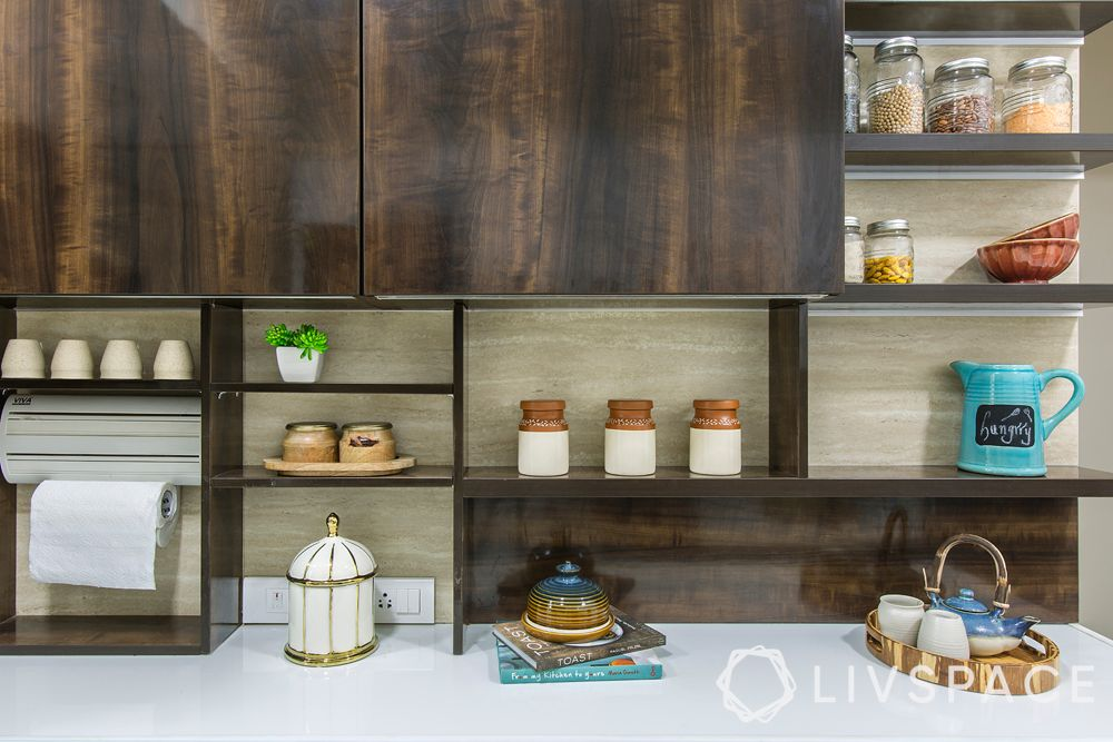 kitchen storage ideas-open shelves