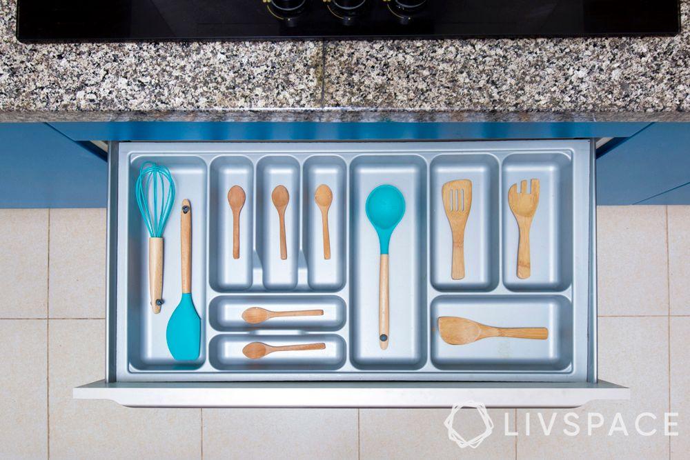 cutlery tray-kitchen storage ideas