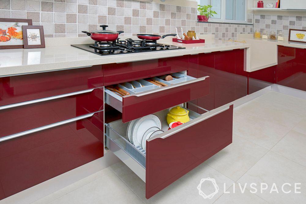red kitchen-thali basket