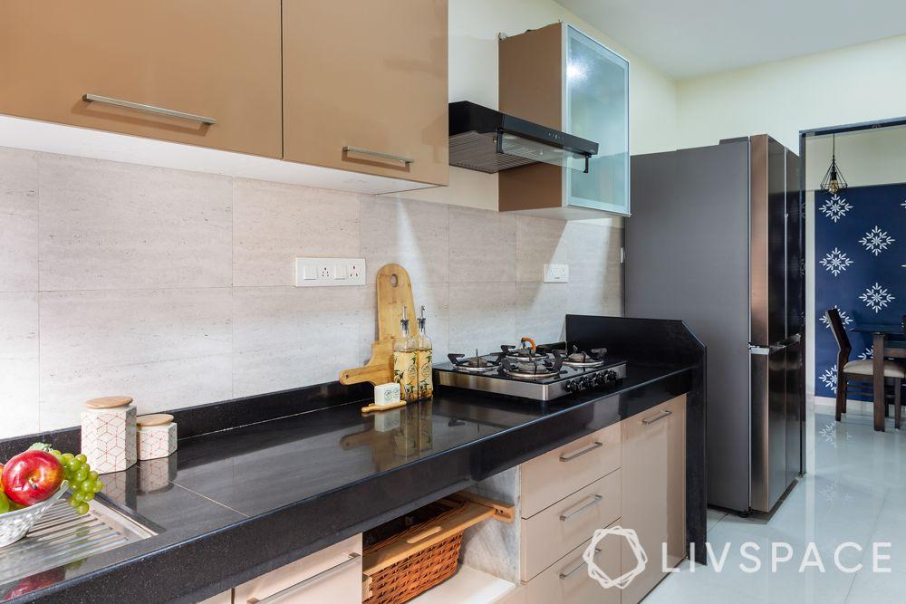 simple kitchen design low cost-beige kitchen