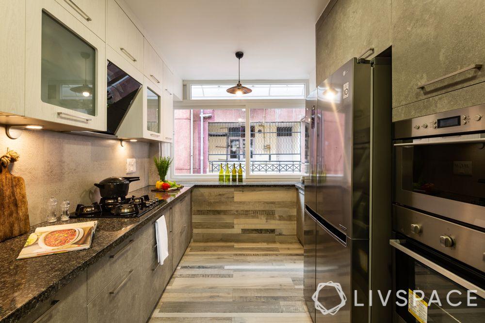 simple kitchen design-rustic kitchen