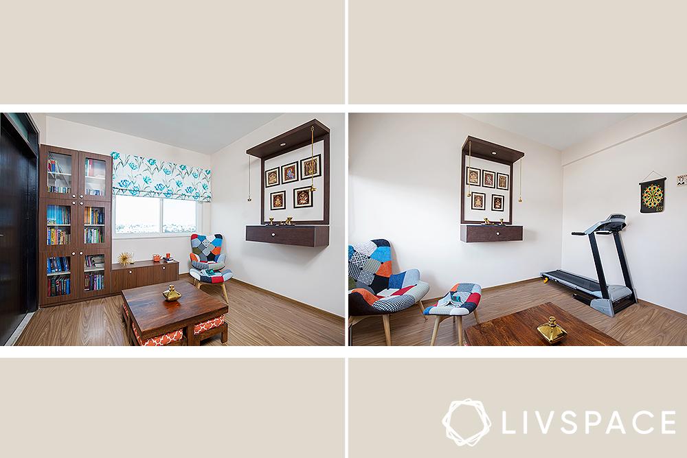small house design - multipurpose room