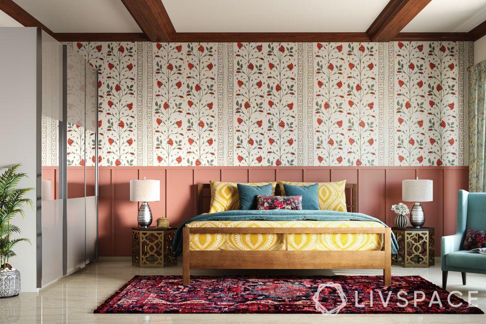 bedroom design in India-Kashmiri bedroom