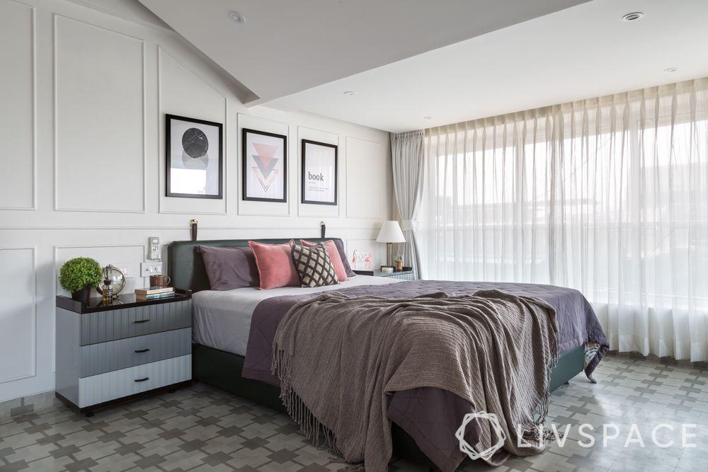 simple Indian bedroom design-Indian minimal bedroom
