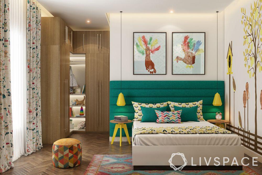 girls room designs - jungle theme