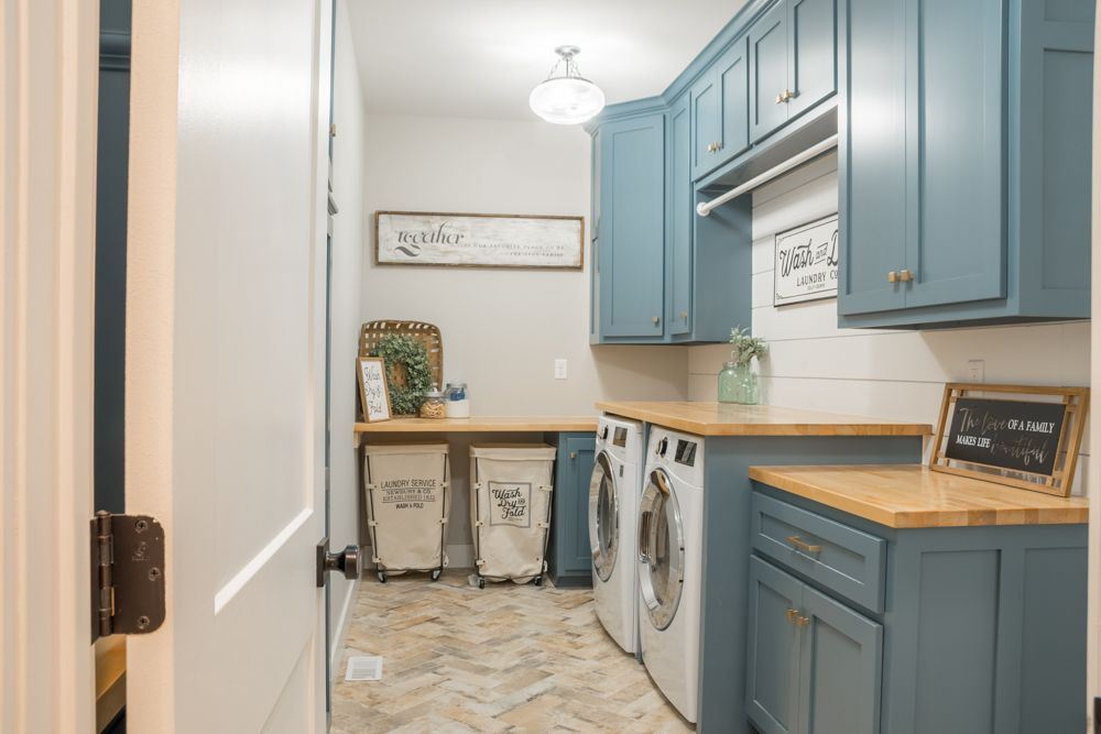 washing room space-plan the utility space
