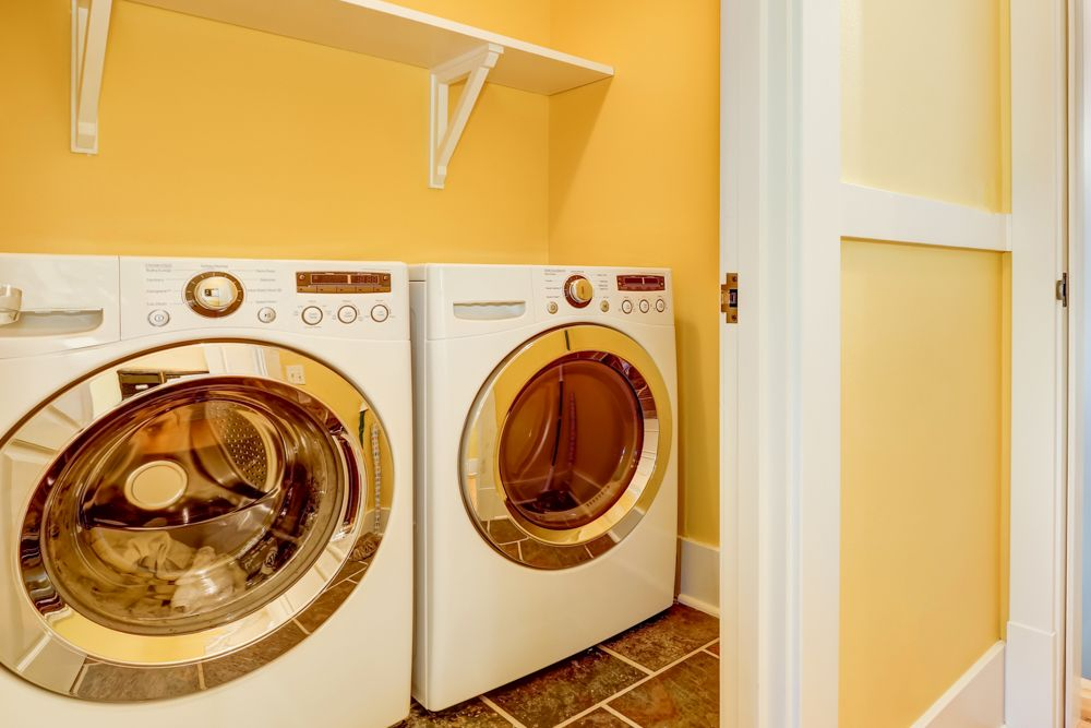 washing room-size of the laundry room