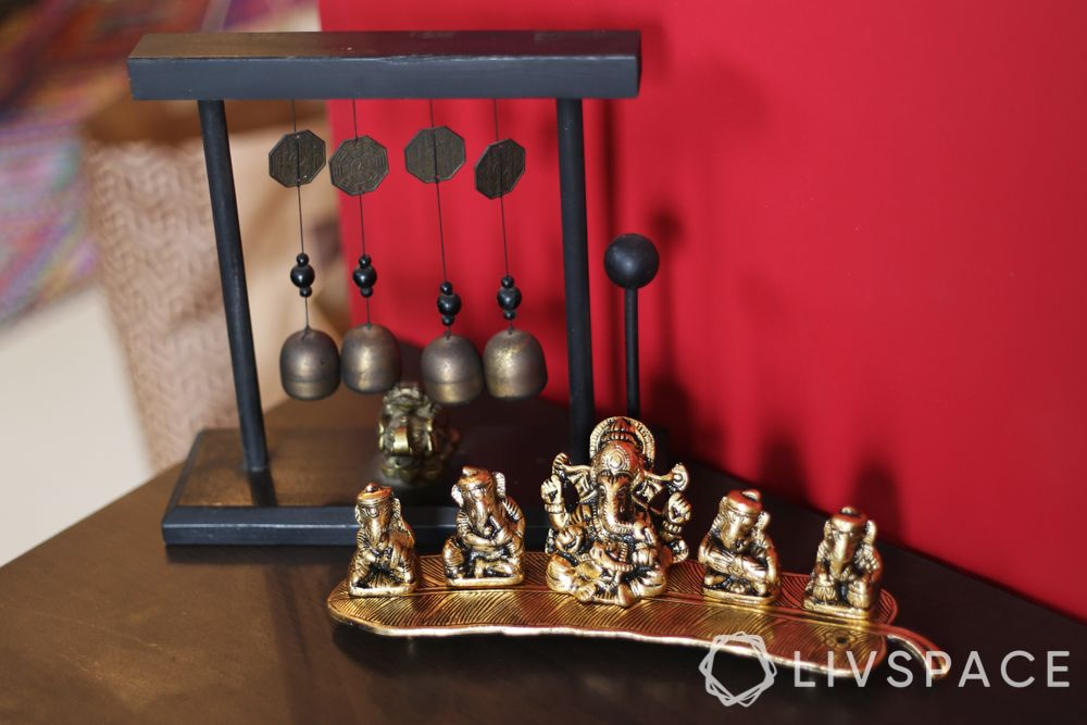 pooja unit-metal idols-metal decor