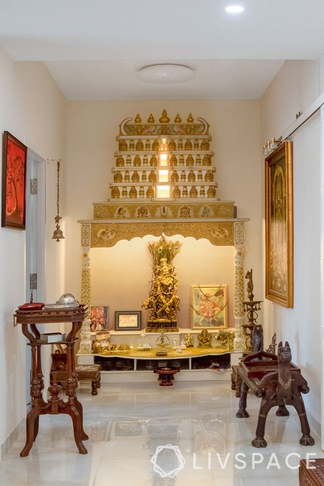 mandir design-South Indian style