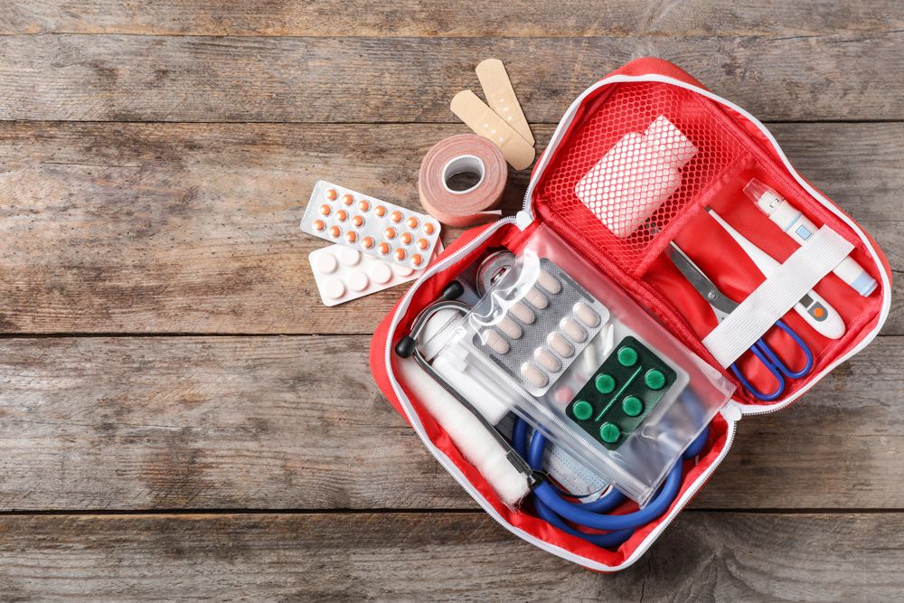 first aid kit-medicine box