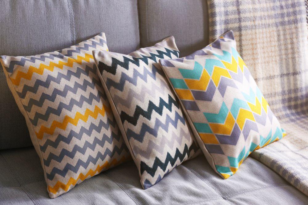 cushion covers-chevron pattern-home decor items