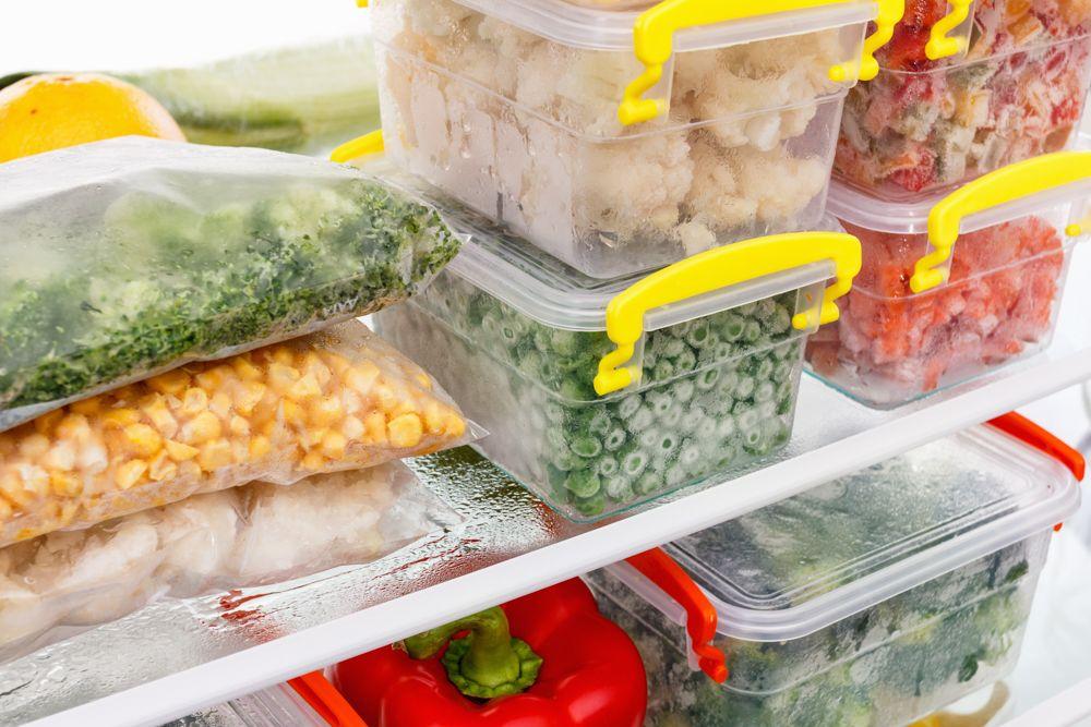 organised fridge-ziplock packs