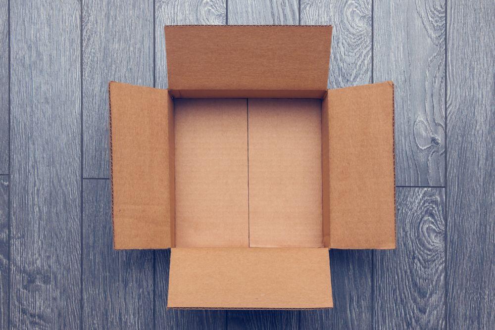 cardboard box-home decor items