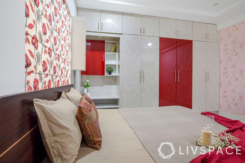 livspace hyderabad-wardrobe-swing door-lofts-dresser unit