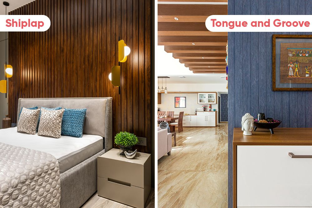 wall panelling-shiplap-tongue and groove