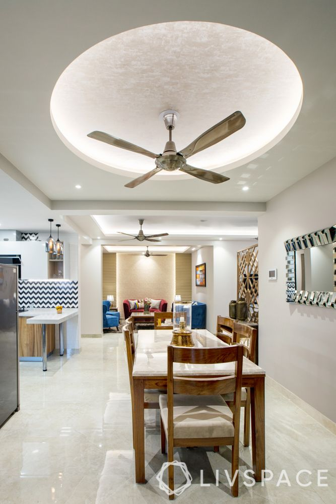 gypsum ceiling designs-false ceiling-dining room