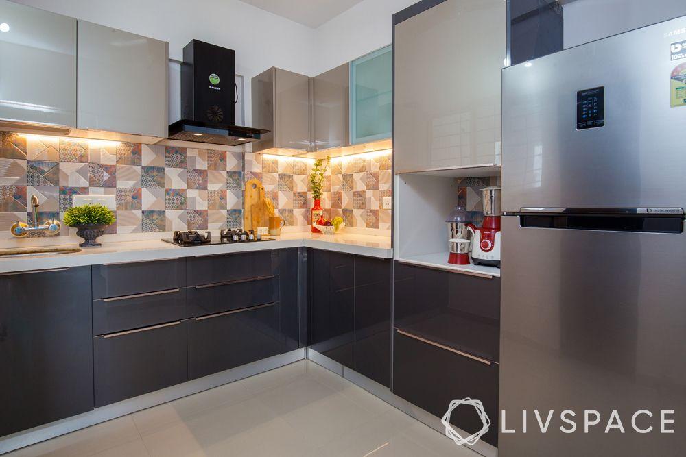 interior house-grey kitchen
