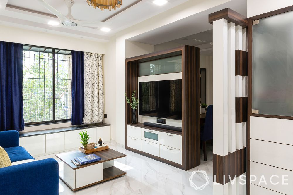 tv unit design-partition design