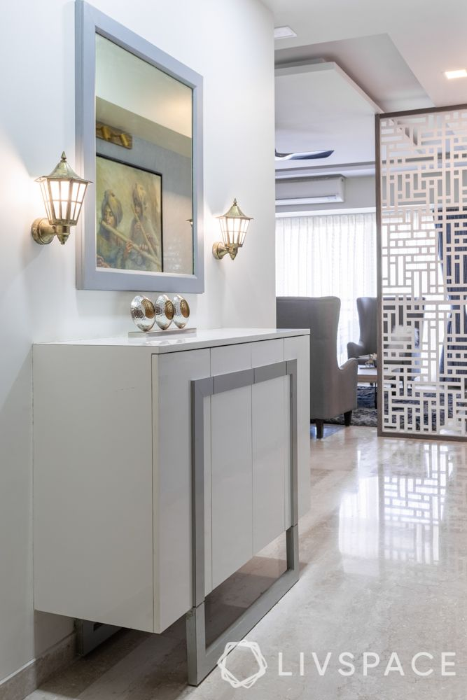 foyer design-console table