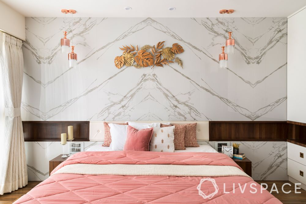 interior house-marble wall