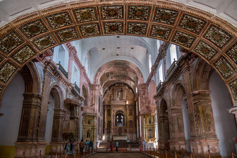 goa architecture-goa church