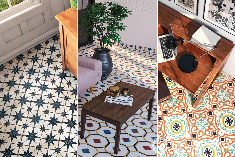 flooring designs-azulejo tiles