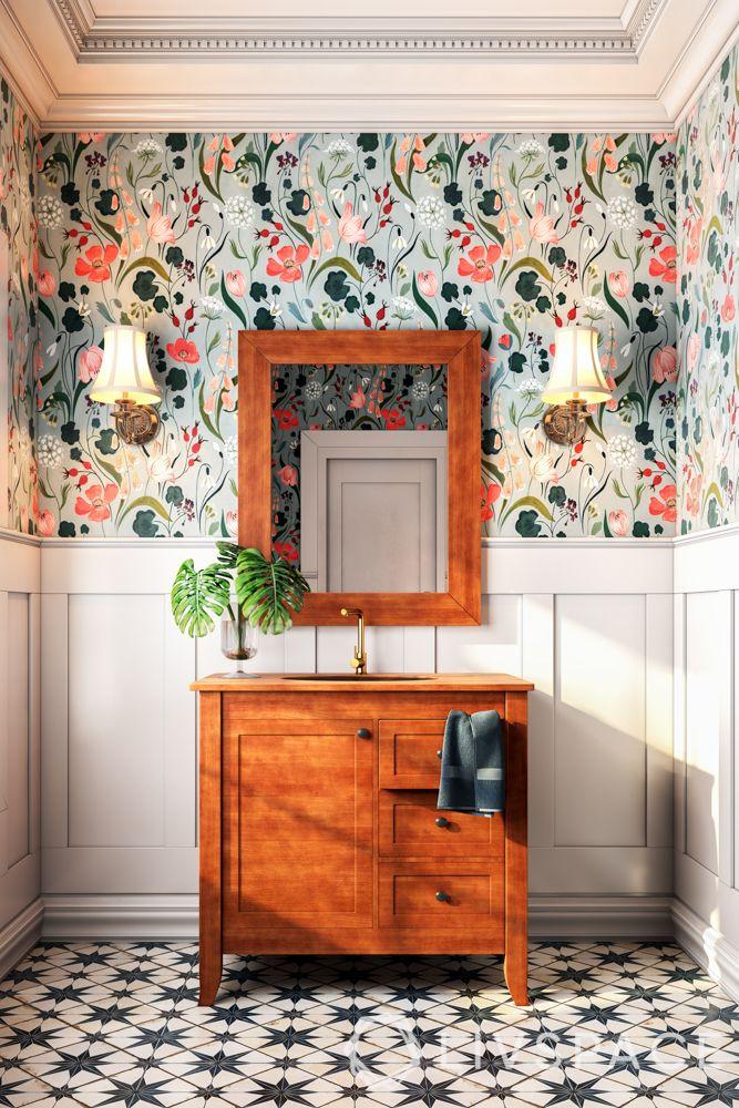 wooden furniture-floor designs